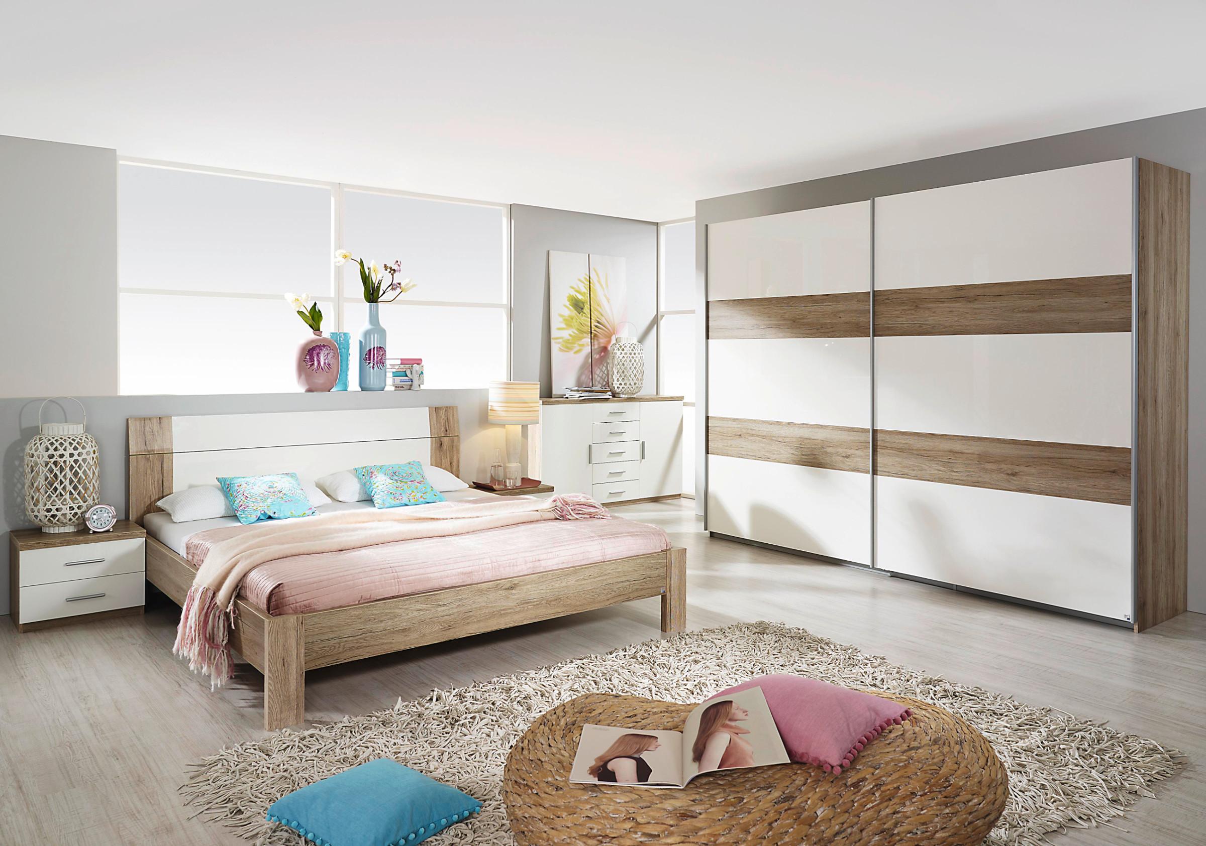 rauch schlafzimmer komplettangebot granada 4 teilig hochglanz ebay. Black Bedroom Furniture Sets. Home Design Ideas