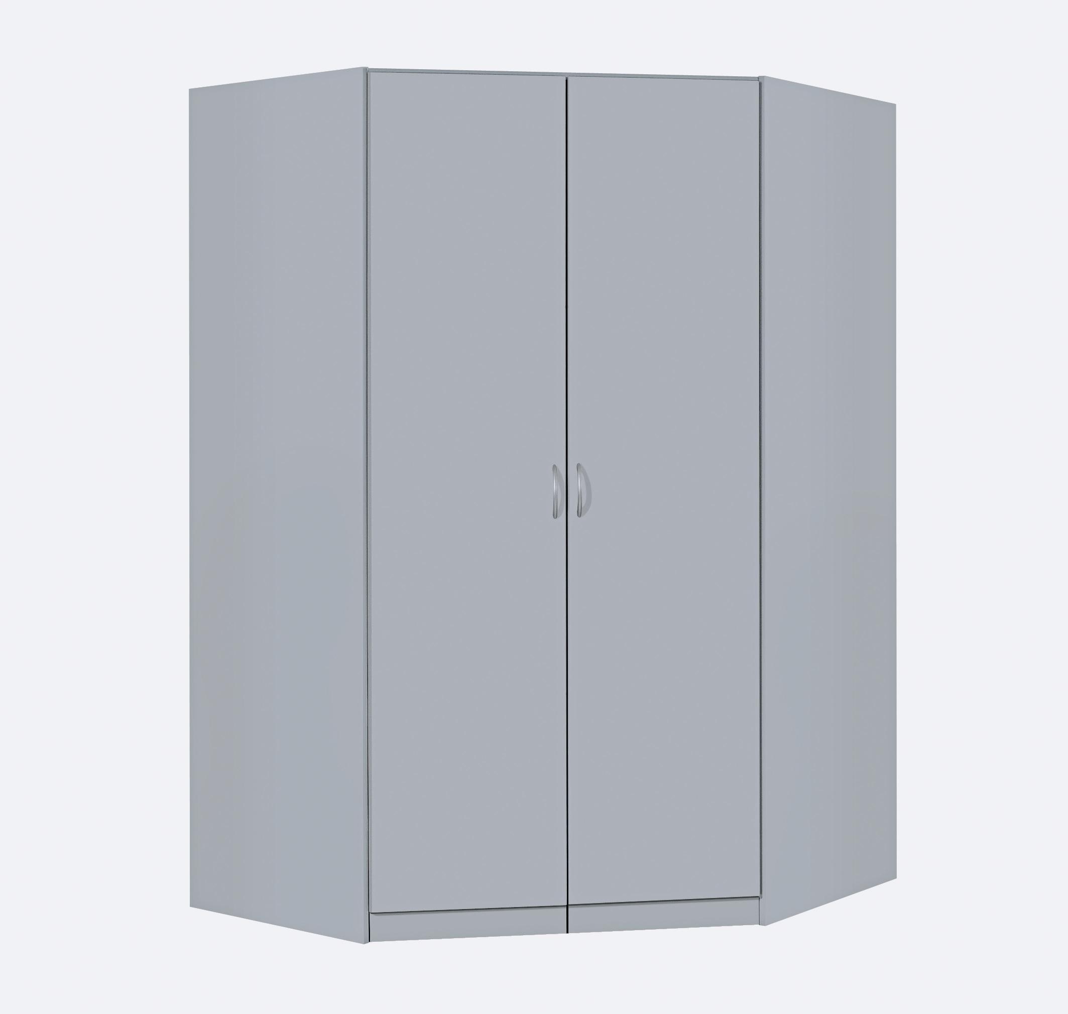 rauch eck kleiderschrank case begehbar 117 x 117 cm ebay. Black Bedroom Furniture Sets. Home Design Ideas