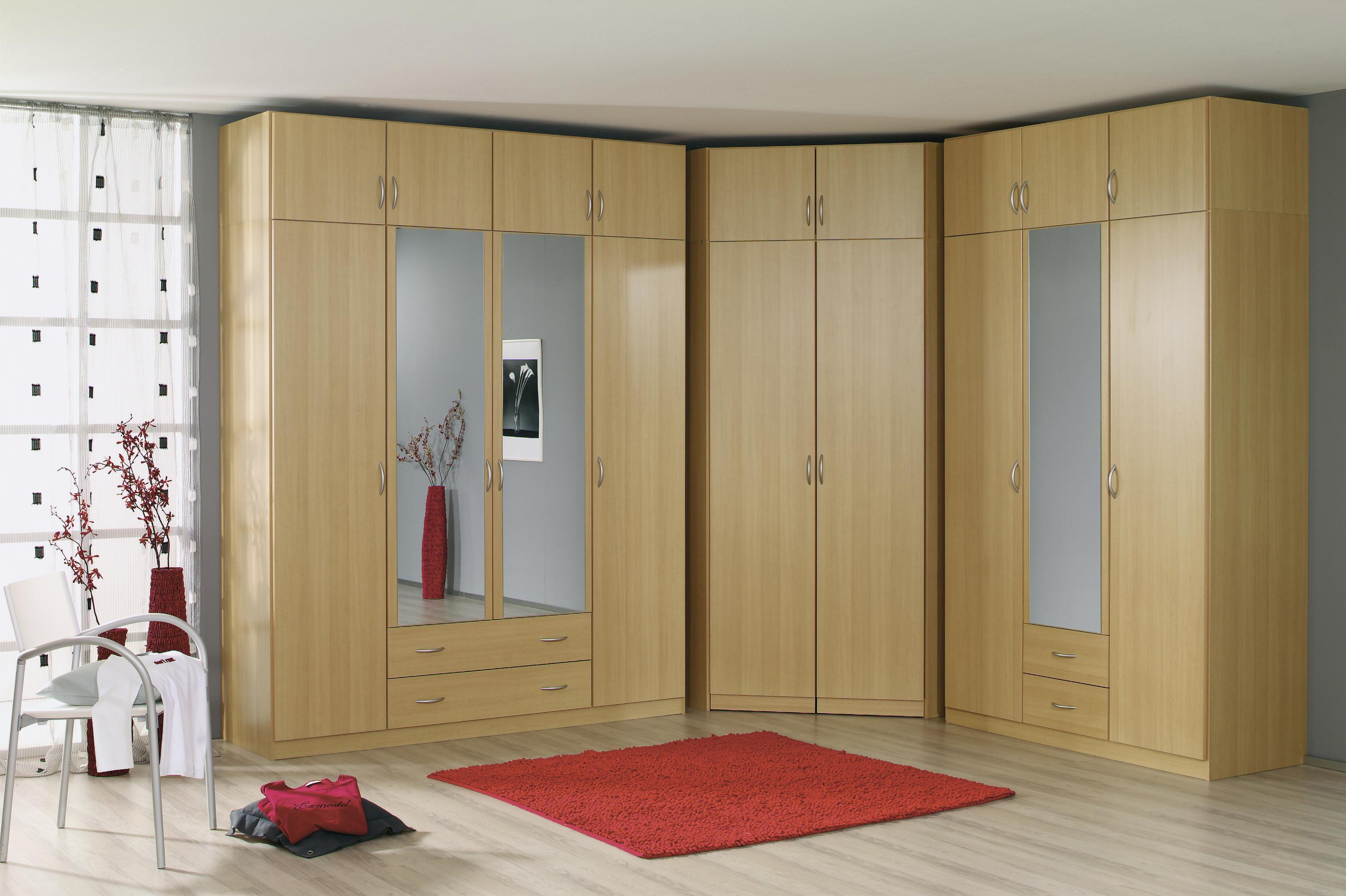 rauch eck kleiderschrank case begehbar 117 x 117 cm ebay. Black Bedroom Furniture Sets. Home Design Ideas