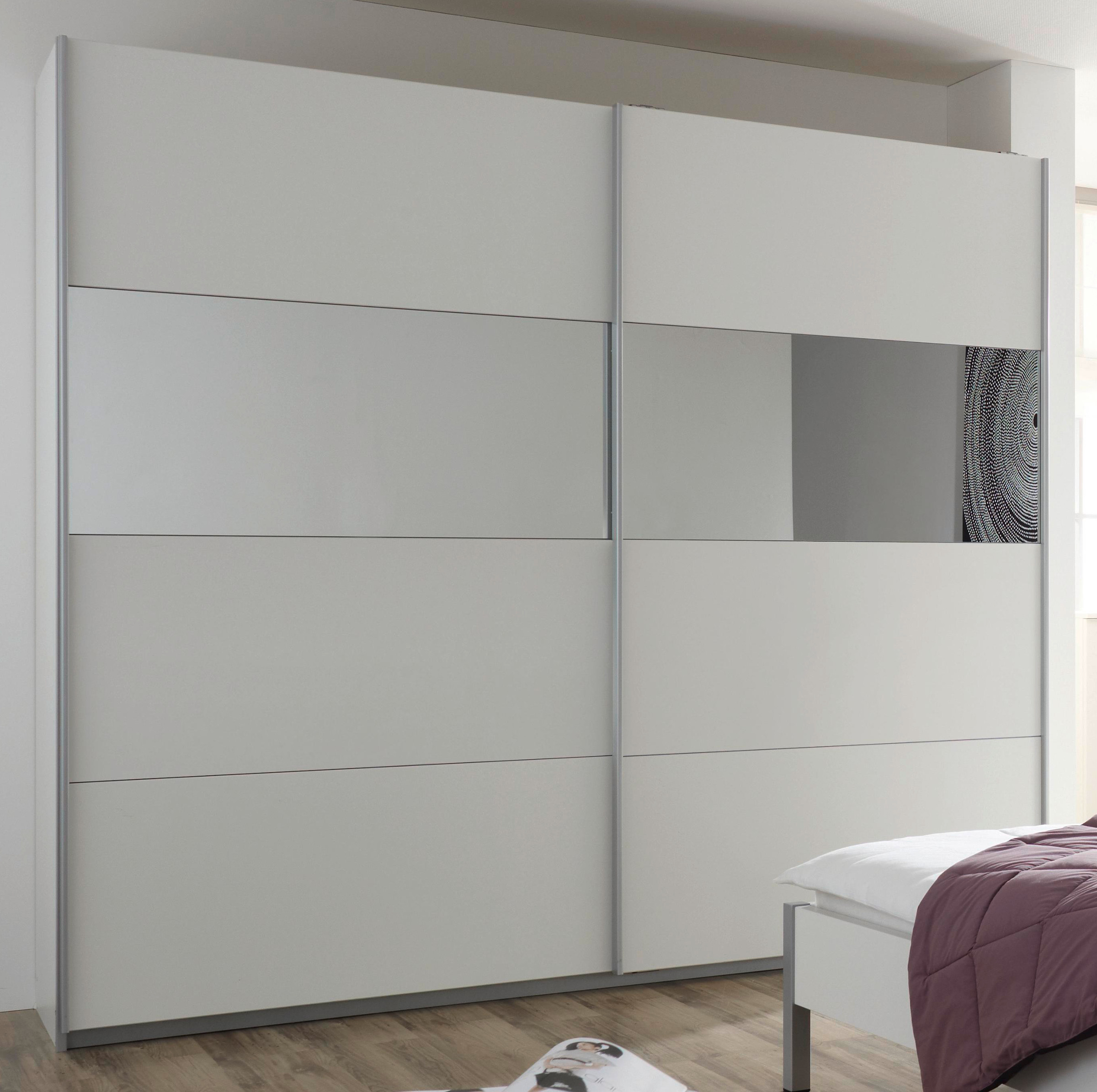 rauch schwebet renschrank quadra alpinwei spiegel 5 breiten 2 h hen ebay. Black Bedroom Furniture Sets. Home Design Ideas