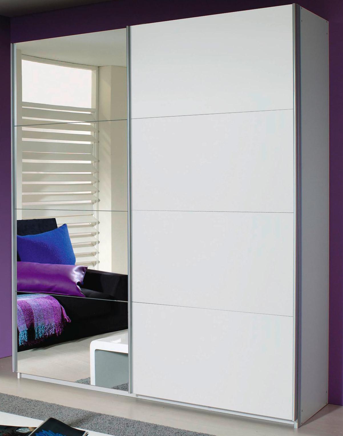 rauch schwebet renschrank quadra alpinwei spiegel 5 breiten 2 h hen ebay. Black Bedroom Furniture Sets. Home Design Ideas
