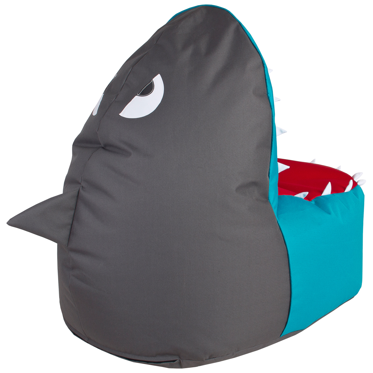 magma sitting point sitzsack kinder shark brava hai sitzkissen. Black Bedroom Furniture Sets. Home Design Ideas