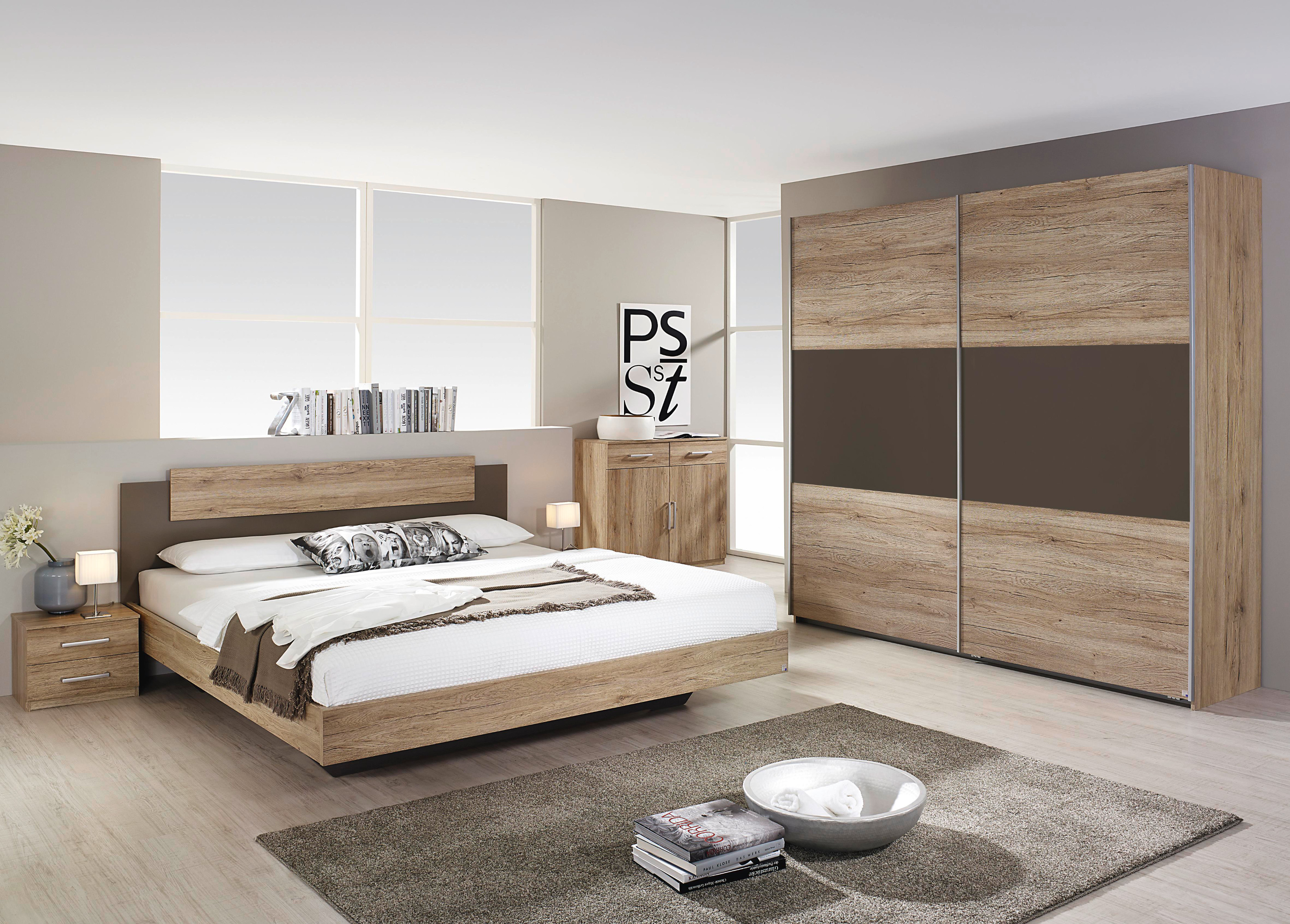 rauch schlafzimmer komplettangebot borba 4 teilig mit schwebet renschrank ebay. Black Bedroom Furniture Sets. Home Design Ideas
