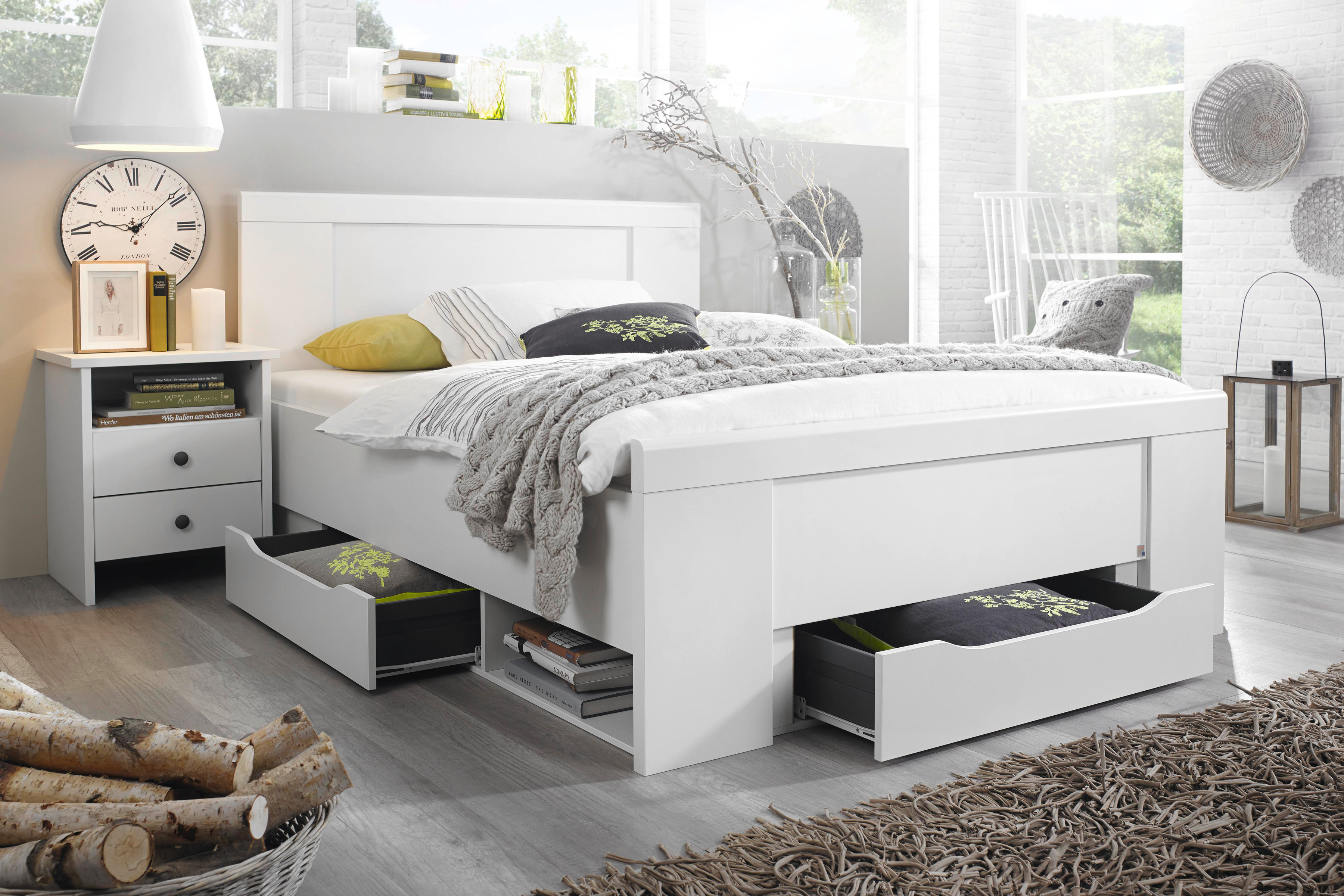 rauch select funktionsbett agnetha alpinwei schubladen moderner landhaus ebay. Black Bedroom Furniture Sets. Home Design Ideas
