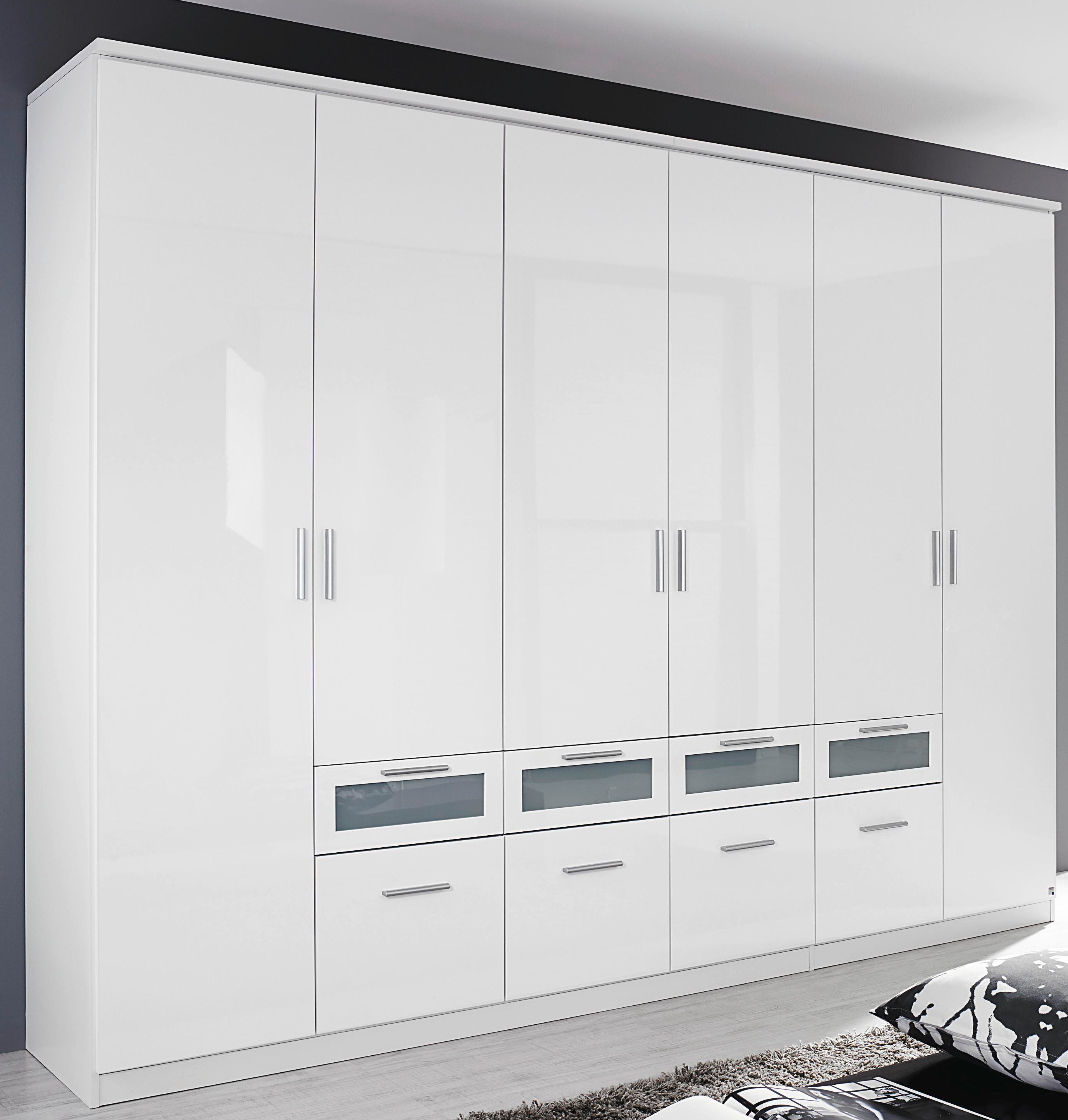 rauch dreht renschrank mit schubk sten garmisch plus hochglanz wei 3 breiten ebay. Black Bedroom Furniture Sets. Home Design Ideas