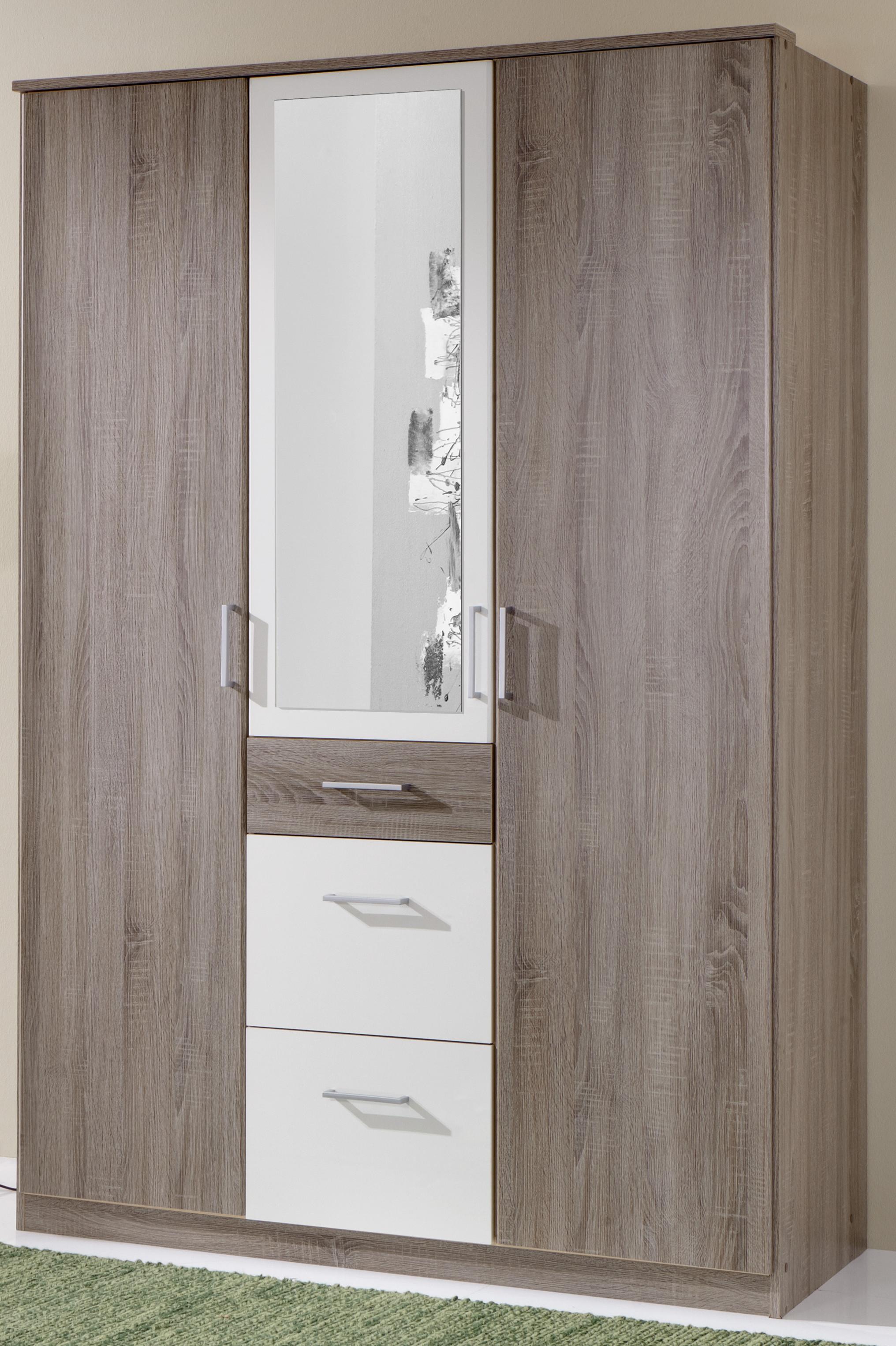 wimex dreht renschrank click montana eiche alpinwei 3 breiten spiegel ebay. Black Bedroom Furniture Sets. Home Design Ideas