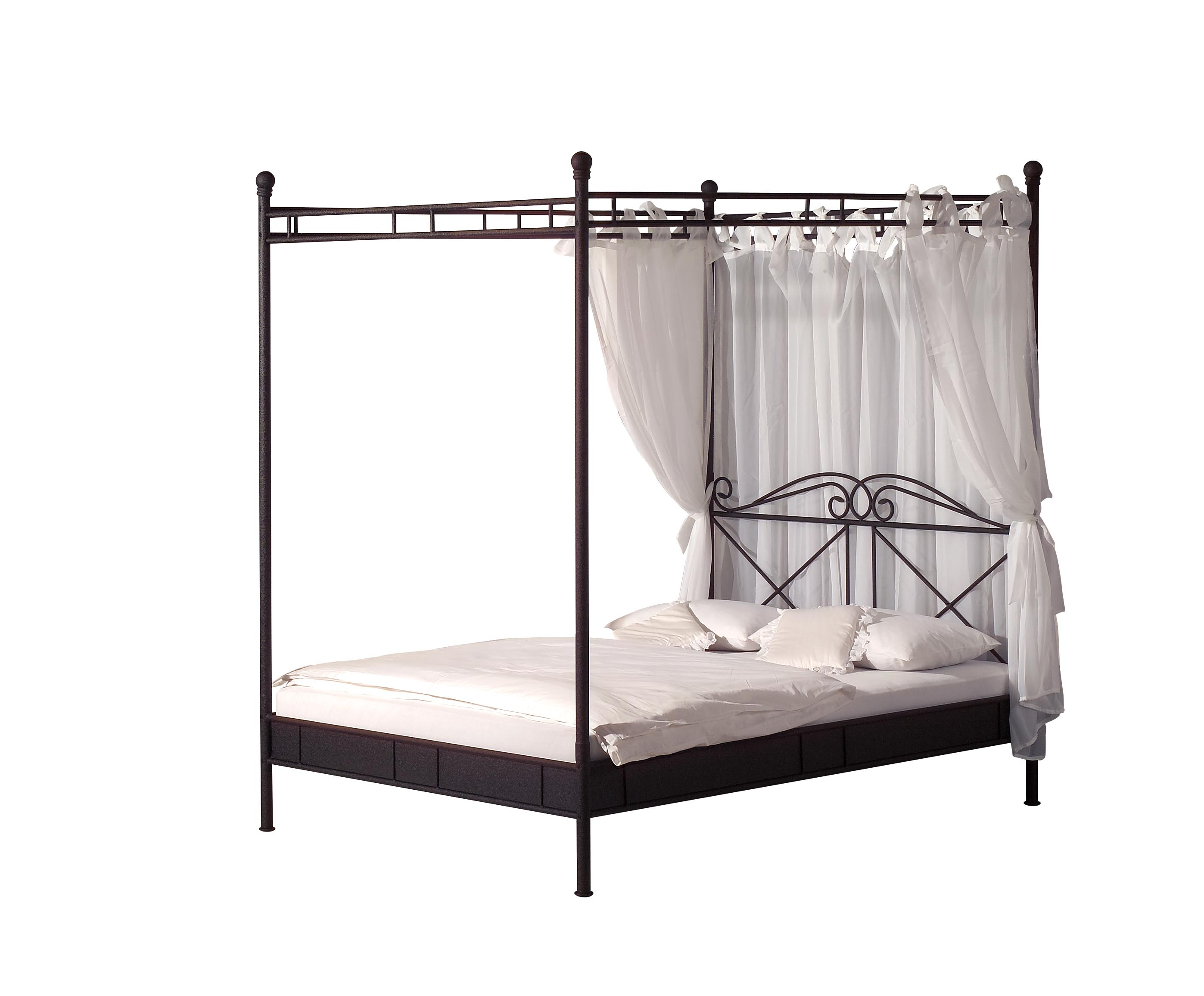 metall himmelbett inkl vorhang venedig in schwarz metallbett 3 gr en ebay. Black Bedroom Furniture Sets. Home Design Ideas
