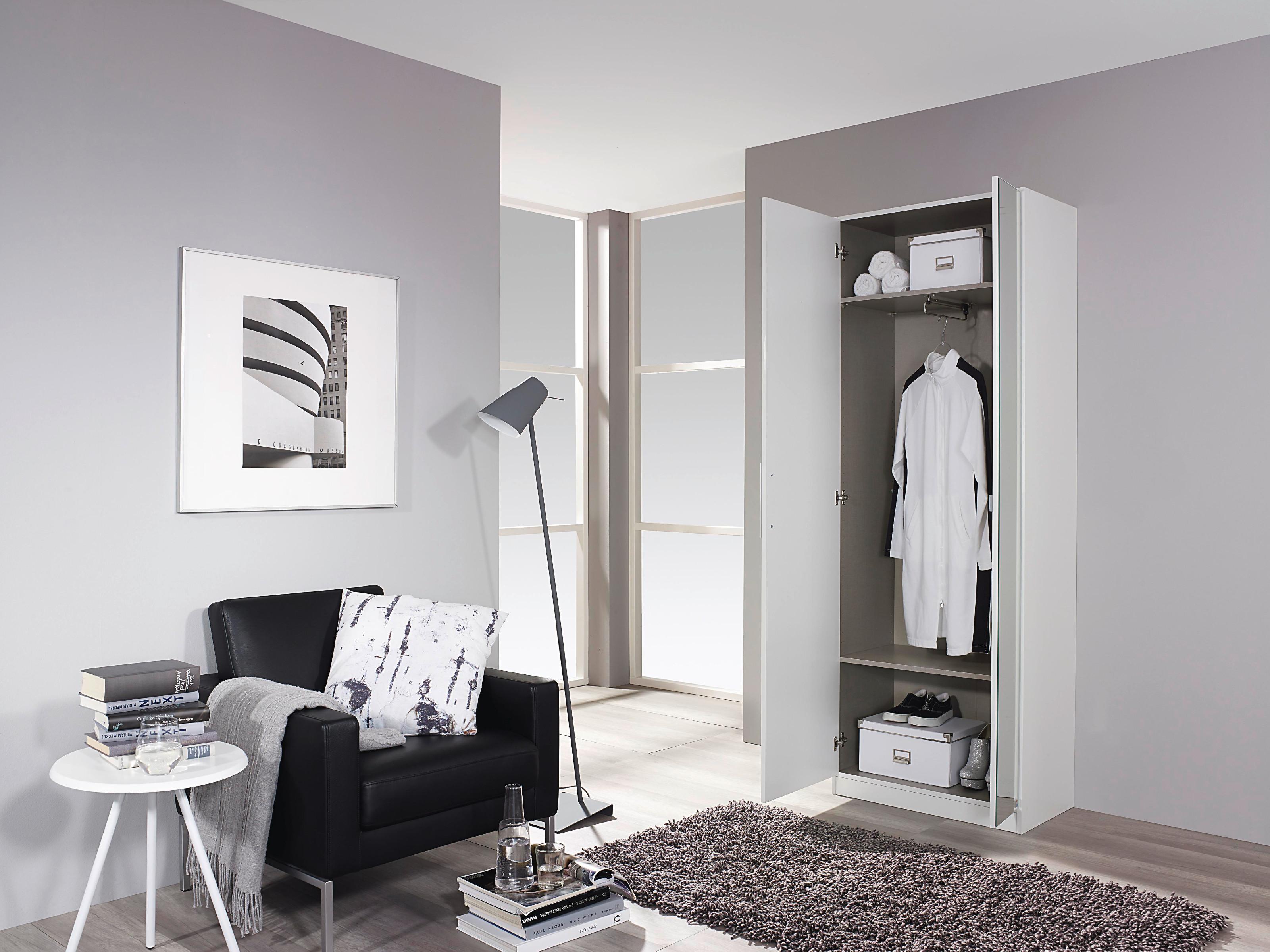 rauch dreht renschrank schuhschrank alpinwei hochglanz wei kleiderschrank ebay. Black Bedroom Furniture Sets. Home Design Ideas