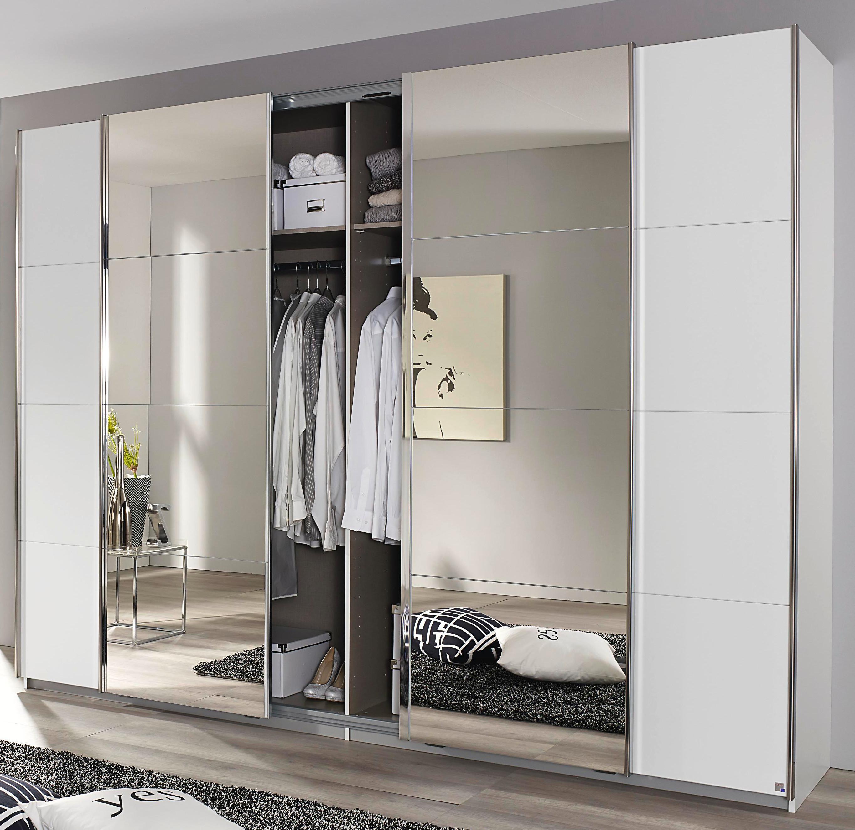 rauch schwebet renschrank mit synchron schwebet r kleiderschrank 3 breiten ebay. Black Bedroom Furniture Sets. Home Design Ideas