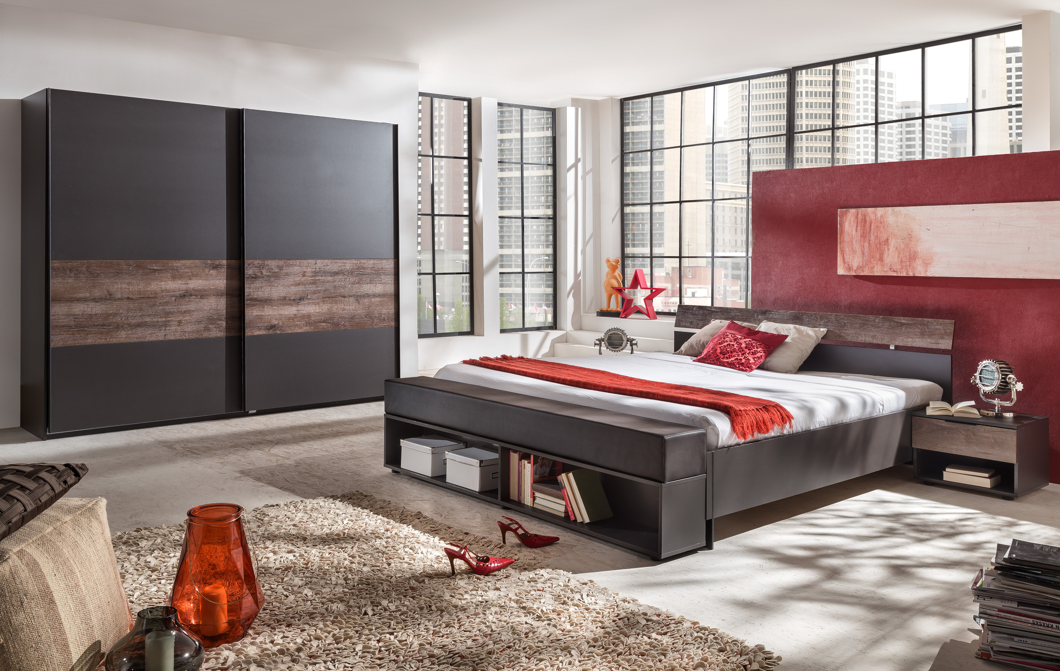 fresh to go bettbank mit polster polsterbank f r bett. Black Bedroom Furniture Sets. Home Design Ideas