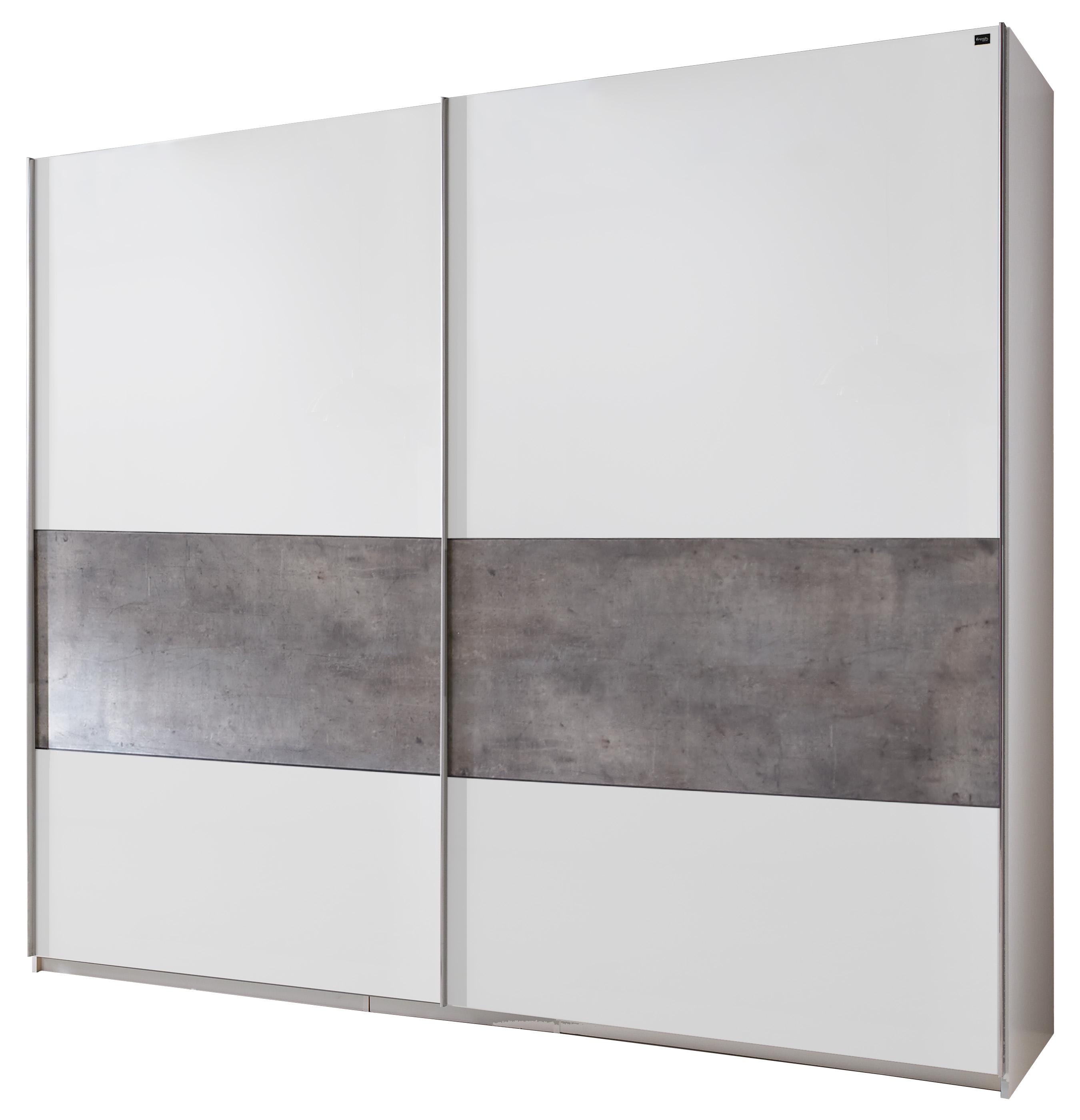 Fresh to go schwebet renschrank 2 t rig betonoptik kleiderschrank 3 breiten ebay - Kleiderschrank betonoptik ...
