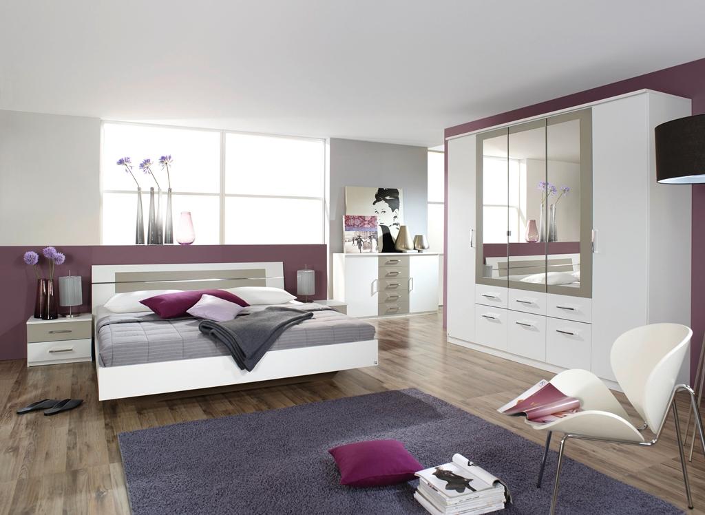 rauch schlafzimmer komplettangebot burano 4 teilig verschiedene farben ebay. Black Bedroom Furniture Sets. Home Design Ideas