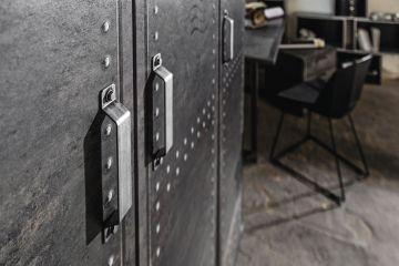 rauch select kleiderschrank spind workbase vintage 5 breiten dielenschrank ebay. Black Bedroom Furniture Sets. Home Design Ideas
