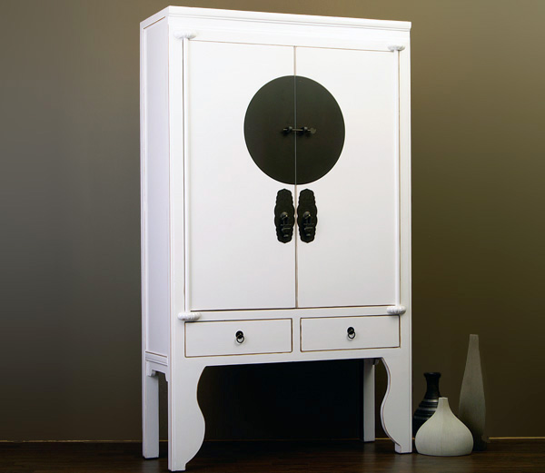chinesischer schrank 37cm tief hochzeitsschrank fernsehschrank wei chinam bel ebay. Black Bedroom Furniture Sets. Home Design Ideas