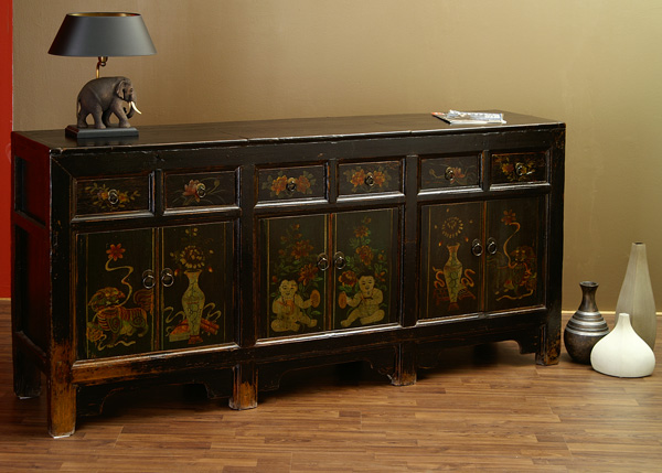 antikes chinesisches sideboard 193cm innere mongolei china m bel antik 82h ebay. Black Bedroom Furniture Sets. Home Design Ideas
