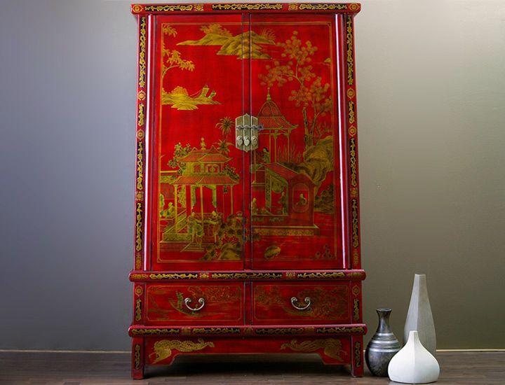 chinesischer schrank rot china wohnzimmer schlafzimmer. Black Bedroom Furniture Sets. Home Design Ideas
