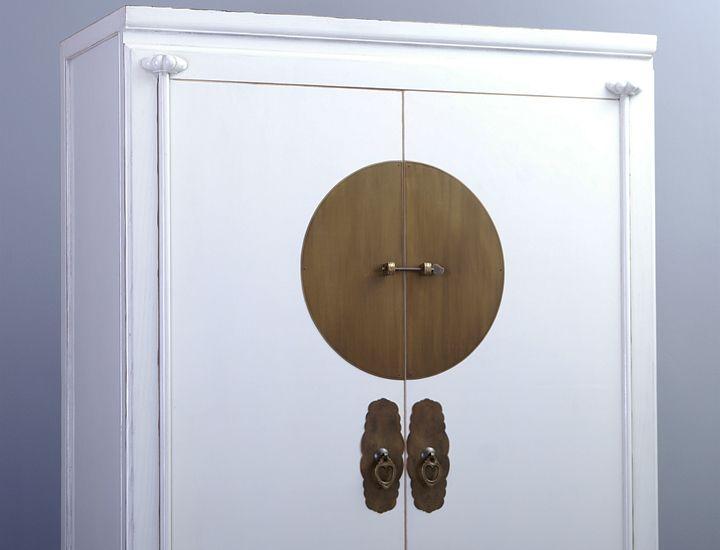 chinesischer hochzeitsschrank nur 40cm tief wei schrank kleiderschrank china ebay. Black Bedroom Furniture Sets. Home Design Ideas