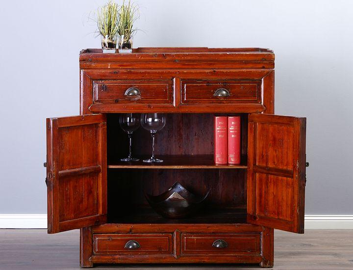 wohnzimmerschrank kolonialstil innenarchitektur und. Black Bedroom Furniture Sets. Home Design Ideas