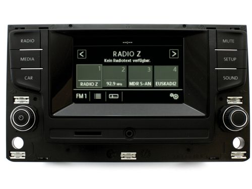 radio composition touch dab digitalradio vw golf 7. Black Bedroom Furniture Sets. Home Design Ideas