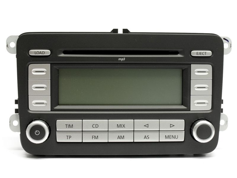 radio vw rcd 500 mp3 cd cambiador nuevo passat 3c golf. Black Bedroom Furniture Sets. Home Design Ideas