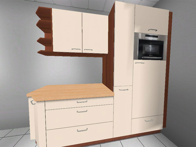 grosse k che orig 9814 softclosing 3 zeilen qualit t ebay. Black Bedroom Furniture Sets. Home Design Ideas