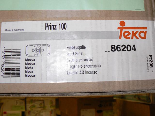 100 cm teka spülbecken orig 435, doppelbecken  ~ Spülbecken Teka
