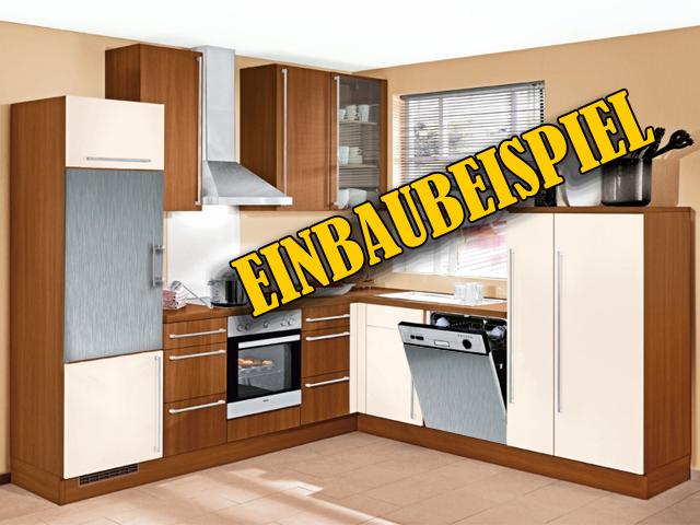cooler k hlschrank mit edelstahlfront 122 cm hoch neu ebay. Black Bedroom Furniture Sets. Home Design Ideas