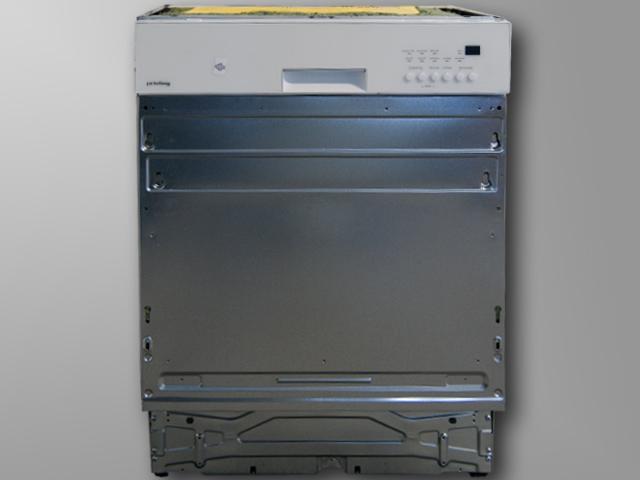 60-cm-Privileg-teilintegriert-Spuelmaschine-Geschirrspueler-weisse-Bedienblende