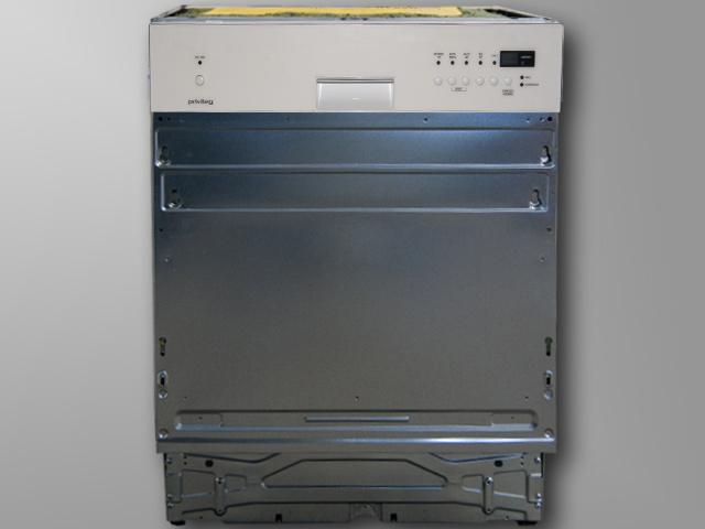 Spuelmaschine-60-cm-Teilintegriert-Geschirrspueler-Restlaufanzeige-Wasserschutz