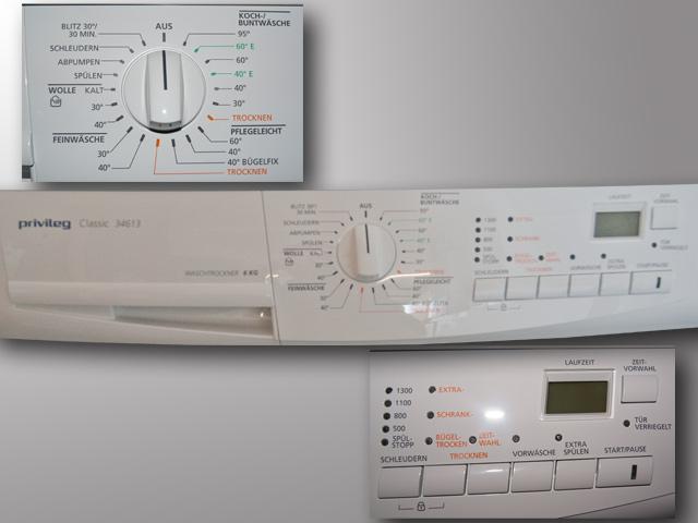 Waschtrockner Wäsche Trockner Kondenztrockner  ~ Waschmaschine Und Trockner In Einem