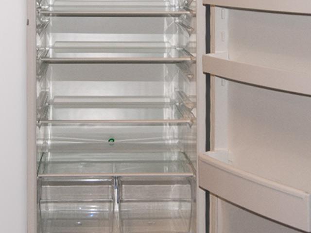 122 cm einbauk hlschrank dekorf hig mit gefrierfach a. Black Bedroom Furniture Sets. Home Design Ideas