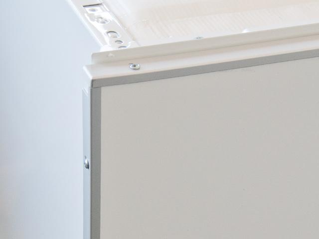 einbau k hlschrank mit griff und dekorrahmen 87 5 cm ebay. Black Bedroom Furniture Sets. Home Design Ideas