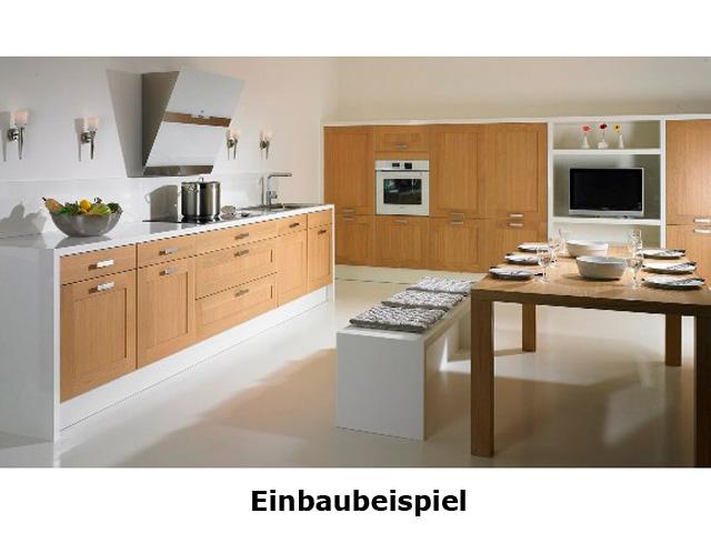 U-Küche 3 Zeile GEBA Landhausküche Landhausstil Front ...