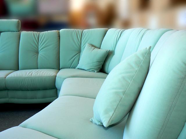 Couch ottomane teflon sofagarnitur wohnlandschaft rundecke for Wohnlandschaft b ware