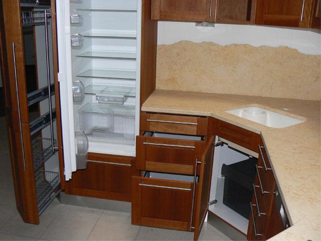 l k che knabl kirsch massiv ger te neff apotheker highbord ausstellungsk che ebay. Black Bedroom Furniture Sets. Home Design Ideas