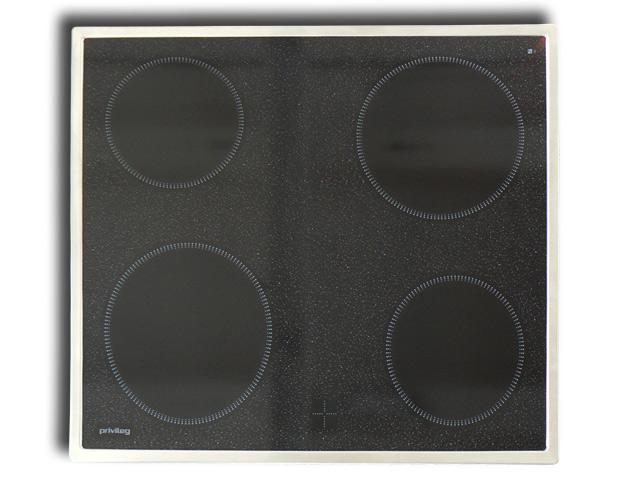 braune herdset mit glasfront und glaskochfeld einbauherd unterbauherd in schrank ebay. Black Bedroom Furniture Sets. Home Design Ideas