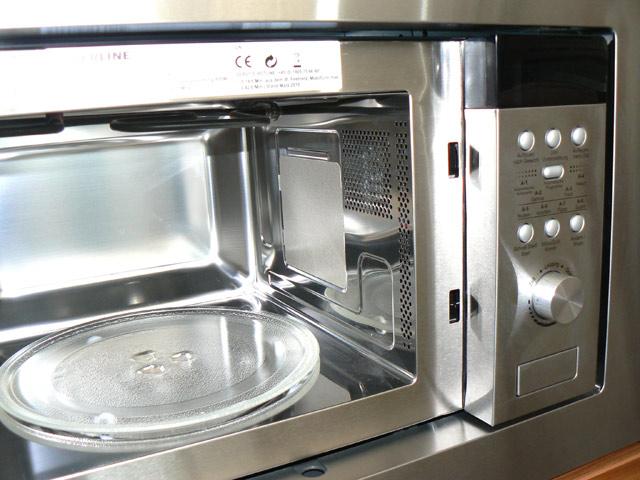 einbau mikrowelle grill drehteller auftauen va innenraum orig 389 edelstahl ebay. Black Bedroom Furniture Sets. Home Design Ideas
