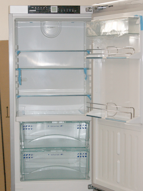 A liebherr cbnpgb 3956 kuhl gefrier glasfront biofresh for Nofrost kühlschrank