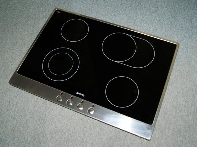Entzuckend Das Bild Wird Geladen 72 Cm Smeg Glaskeramik Kochfeld Ausschnitt Nur 56cm