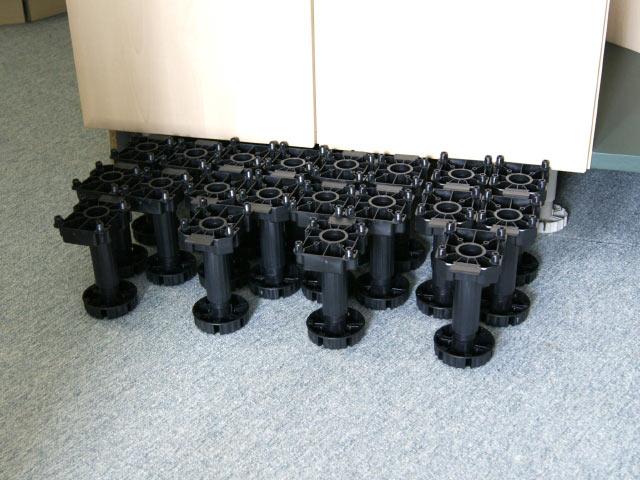 20 Stück Sockelfüsse orig. 43.- Küchen Sockel Verstellbereich ...