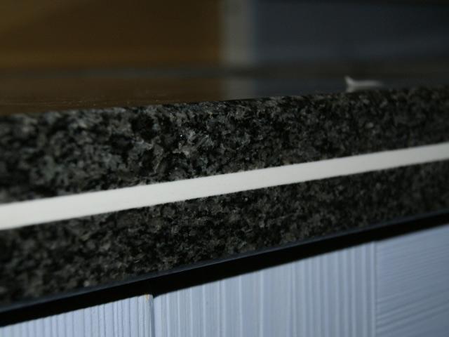 120 cm granit k chen arbeitsplatte schwarz mit kochfeldausschnitt 75x49cm ebay Granit schwarz arbeitsplatte