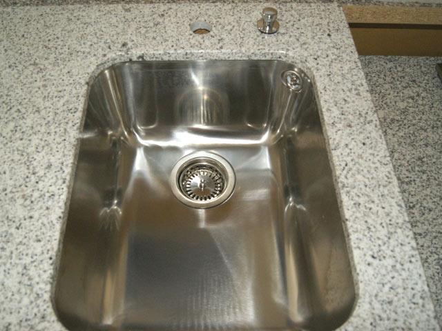 120 cm Granit Küchen Arbeitsplatte Granitplatte weiß Blanco ... | {Spülbecken granit weiß 62}
