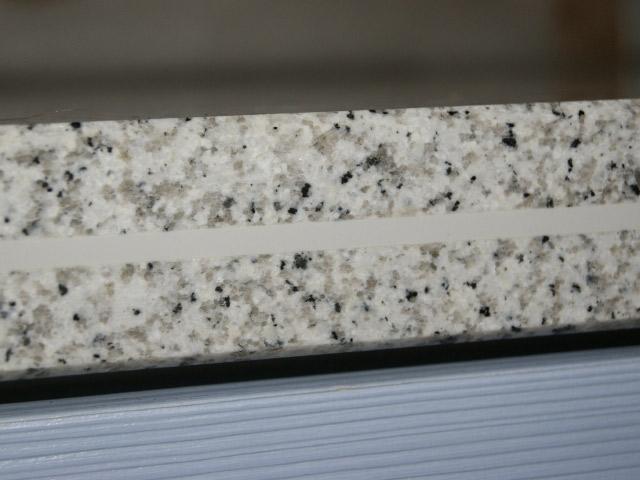 120 cm Granit Küchen Arbeitsplatte Granitplatte weiß Blanco ... | {Spülbecken granit weiß 38}
