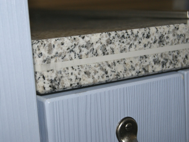 120 cm Granit Küchen Arbeitsplatte Granitplatte weiß Blanco ... | {Spülbecken granit weiß 65}