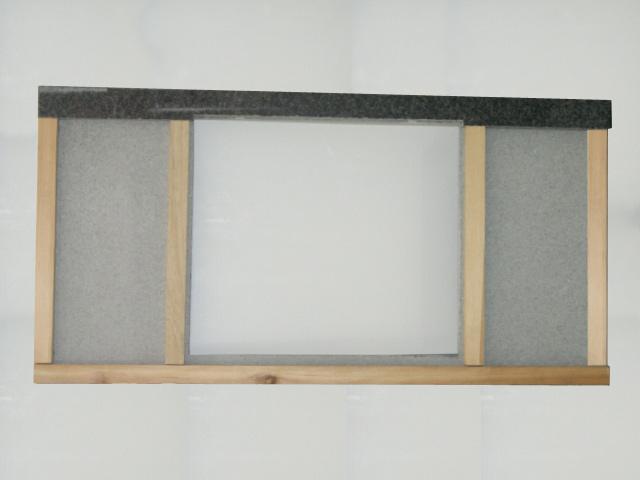120 cm Granit Küchen Arbeitsplatte Granitplatte weiß Blanco ... | {Spülbecken granit weiß 98}