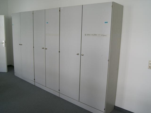 Büroschrank abschließbar  Waiko Büro Büromöbel Aktenschrank gebr. 120 cm Büro von Behörde ...