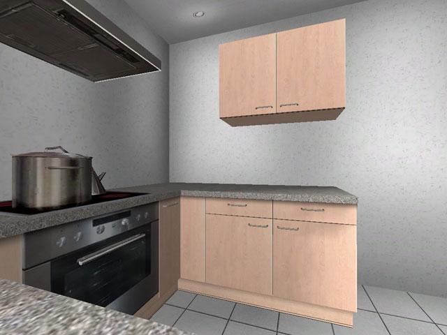 alno k che l oder u form rondell neu birke augsburg ebay. Black Bedroom Furniture Sets. Home Design Ideas