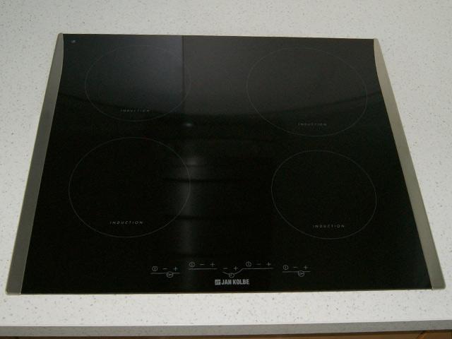 60 cm jan kolbe induktionskochfeld autark 4 kochzonen edelstahlrahmen ebay. Black Bedroom Furniture Sets. Home Design Ideas