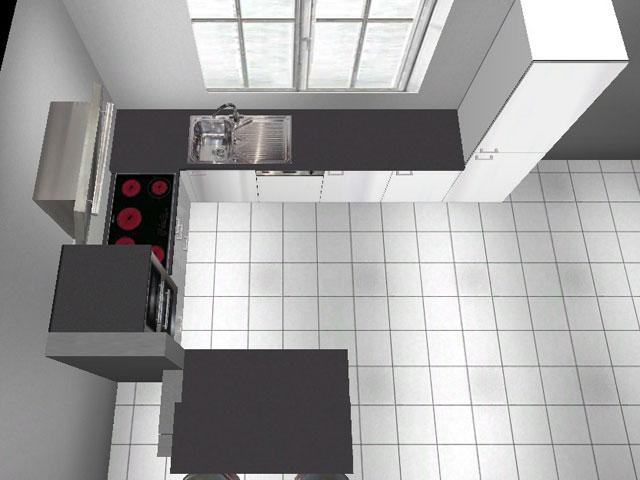 L-Küche Wellmann ALNO Theke Hochbackofen Hochglanz, Weiß Highbord ... | {Küchenzeile mit hochbackofen 15}