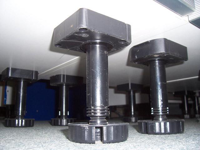 20 x Sockelfüsse 130-150 mm div. Alno Küchen Küchenfüße ...